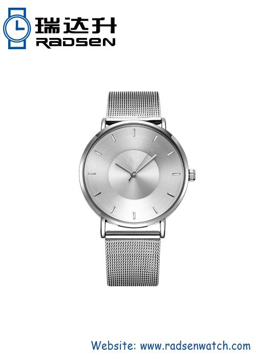 Imported Movement Watch With Stainless Steel