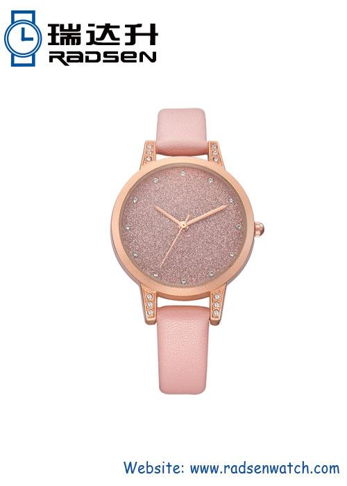 Glitter Face Watch For Lady