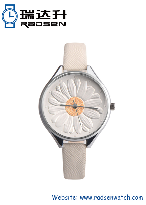 3D Floral Watches For Ladies