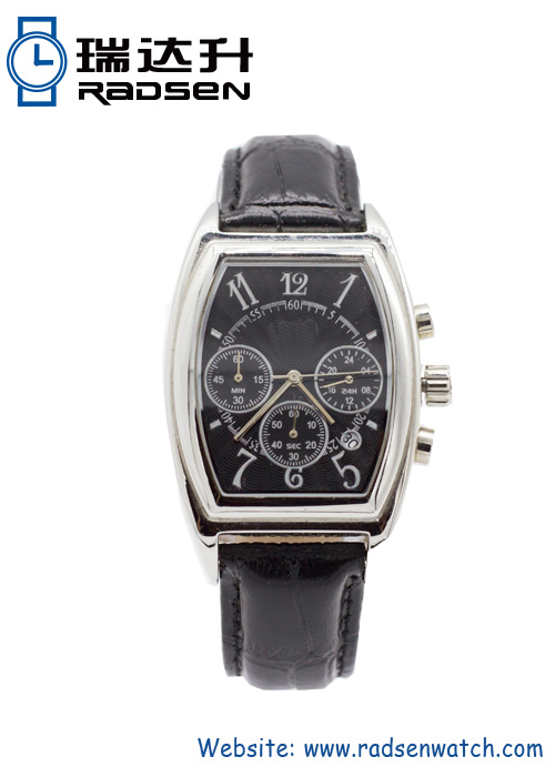 New Arrival Vintage Mens Watches with Stainless Steel Case