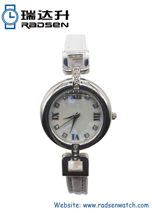 Slim Vintage Style Watches for Women with Stones