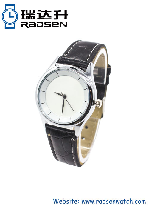 Couple Leather Wrist Watches for Men Women Lovers