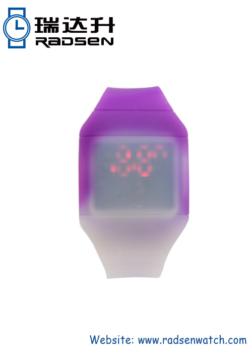 Interesting LED Watches With Color Changing Dial And Strap Unique Digital Watches