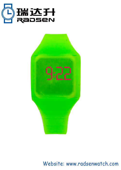 Silicone LED Kids Watches Red Touch Digital Children Watch with Assorted Color