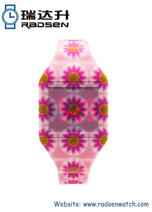 New Pattern LED Touch Women Watches Ladies Digital Reloj