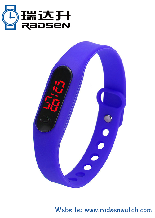 Cheap Slim Bracelet LED Watches with Touch Screen Face