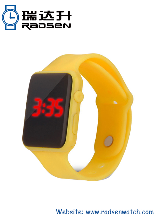 Wholesale Apple Type LED Light Watches Awesome inexpensive Watches