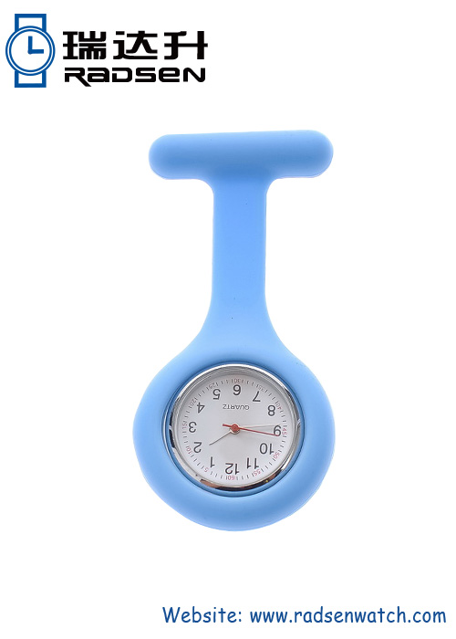 Hot Selling Silicone Nurse FOB Watches for Promotional Item