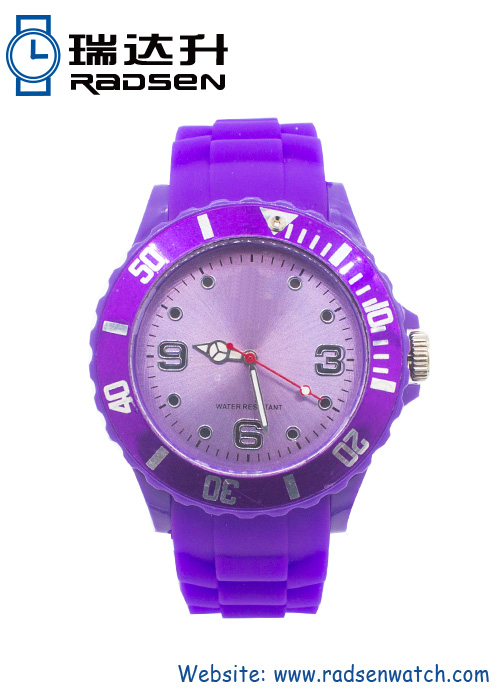 Men and Women Silicone Gift Watches Promotional Gift Rubber Watches