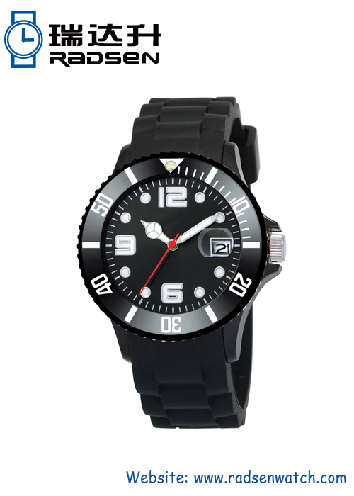 3ATM Water Proof Silicone Rubber Watch