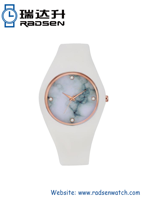 Marble Face Watch Women