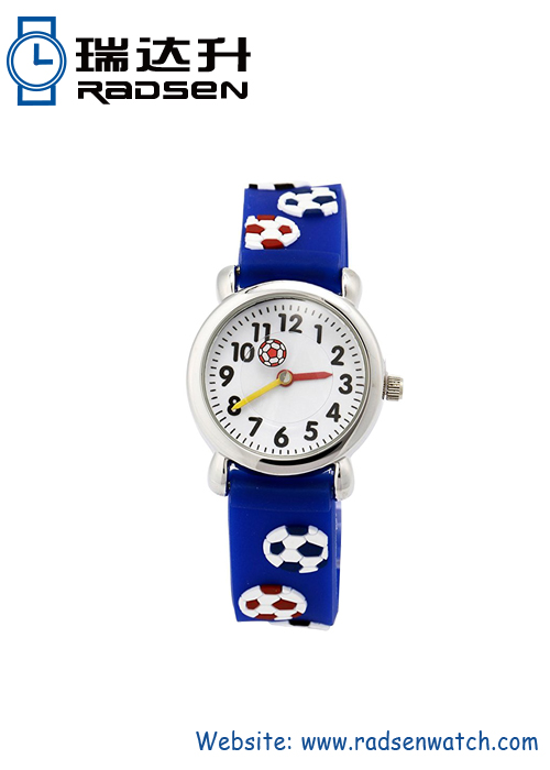3D Silicone Band Kids Watches