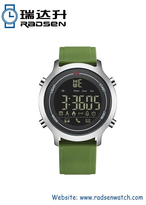 IP Plating Matt Finish Smart Digital Watch
