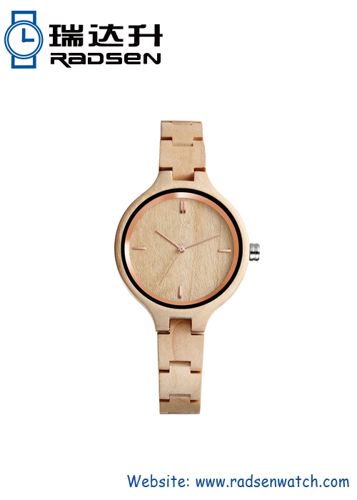 Women Wooden Watches Thin Style