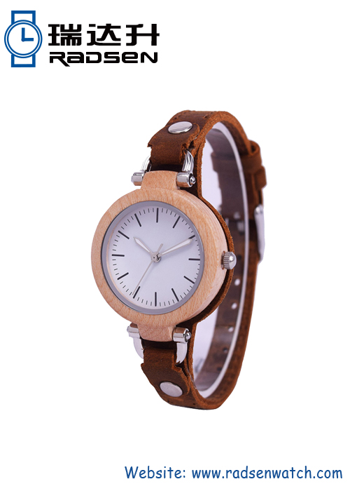 Slim Wood Watches For Women