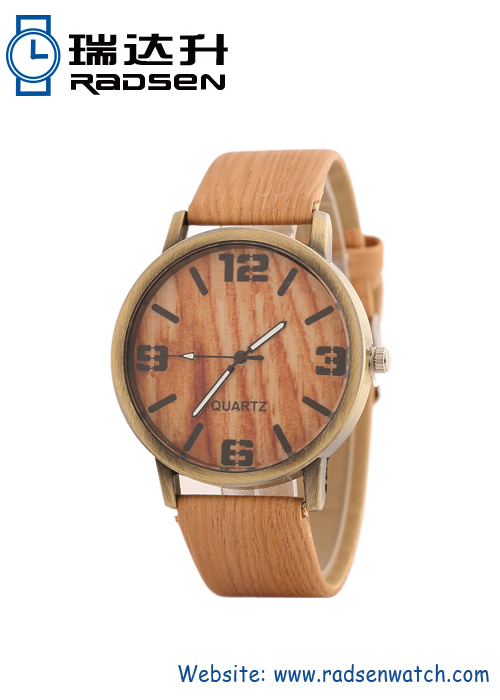 Wood Grain Mens Watch