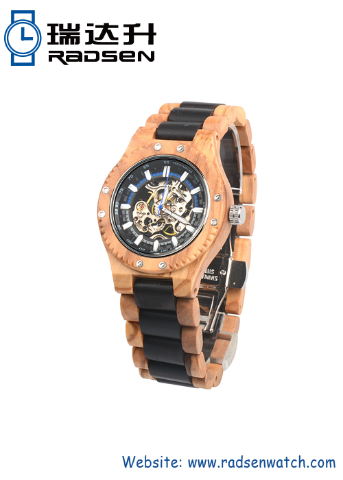 Automatic Wood Watch