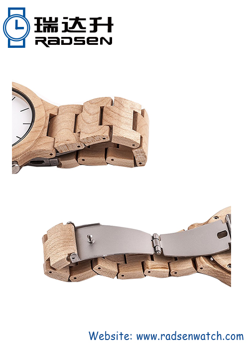Fashionable Watches Made Of Wood