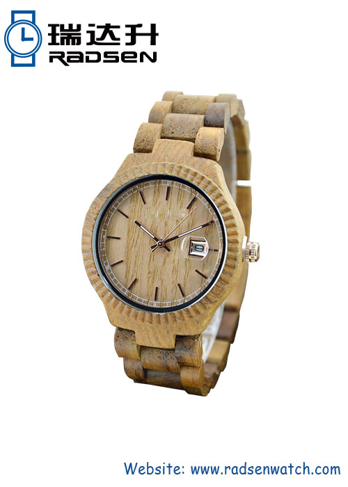 New Arrival Handmade Wood Band and Face Watches Orologi